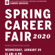 Luddy Spring 2020 Career Fair