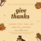 Luddy Student Government Presents  - Give Thanks