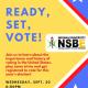 Ready, Set, Vote!