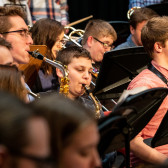 IU Concert Band Performs with Salem High School Band