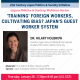 "21JPSI Webinar Series: Prof. Hilary Holbrow (Indiana University) on ""'Training' Foreign Workers, Cultivating Bias: Japan's Guest Worker System"""
