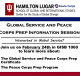 Global Service & Peace Corps Preparation Information Session