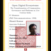 Open Digital Ecosystems: The Transformation of Communities, Governance and Platforms in 21st Century India.