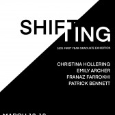 """Virtual Reception for First-Year Graduate Exhibition """"Shifting"""""""