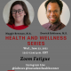 21CS and CAPS Health and Wellness Instagram Live Series!