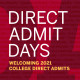 College Direct Admit Day