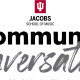 JACOBS SCHOOL OF MUSIC COMMUNITY CONVERSATIONS